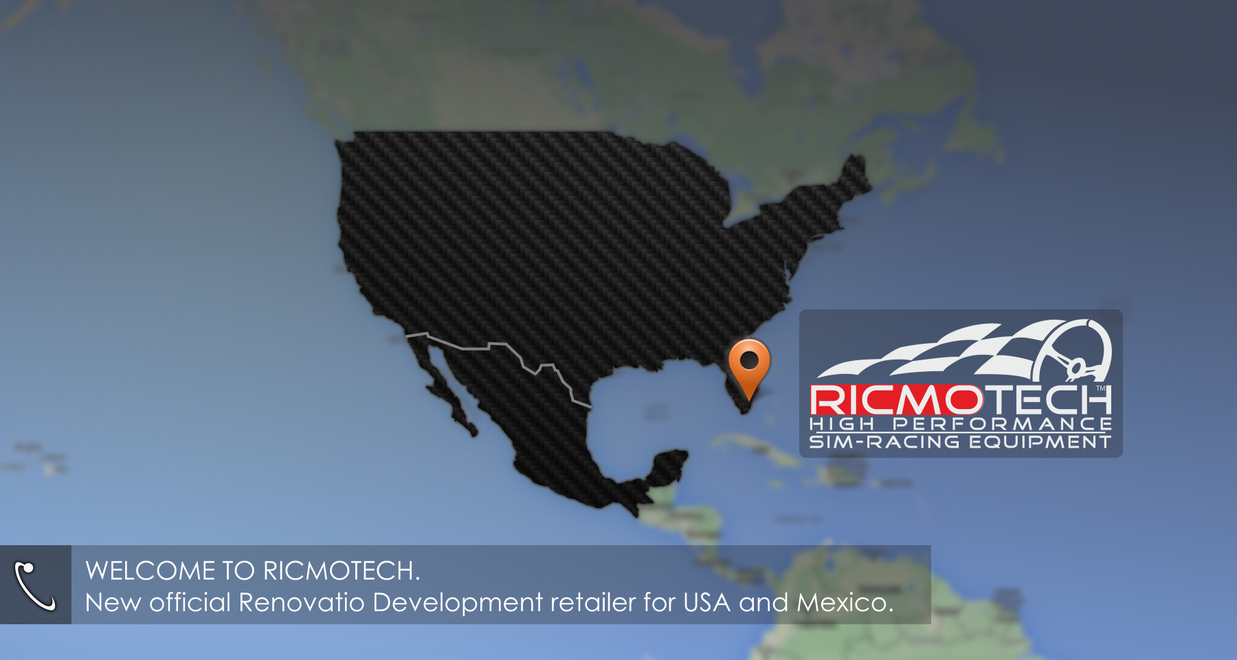Official retailer for USA/Mexico