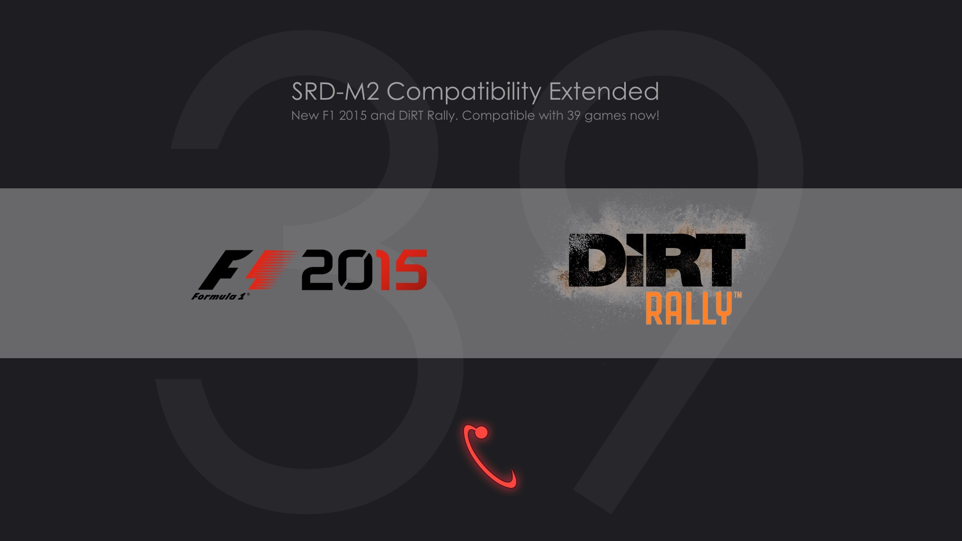 New SRD-M2 v2.7 with F1 2015 and DiRT Rally
