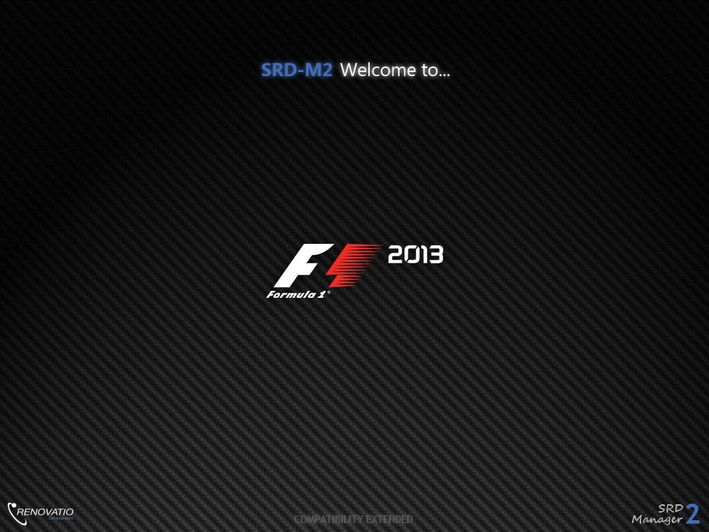 New SRD-M2 v2.2 with F1 2013 compatibility