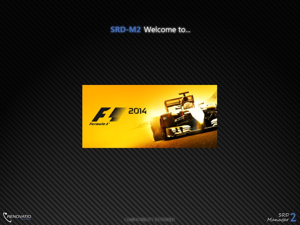New SRD-M2 v2.4.4 with F1 2014 compatibility