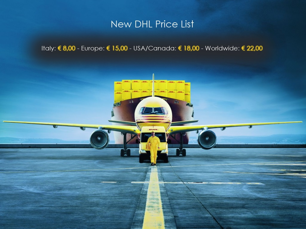 New DHL Price List
